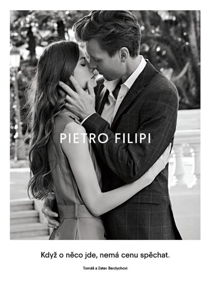 Spojením s Berdychovými chce Pietro Filipi poukázat i na párovost své nabídky, zdroj: Pietro Filipi.