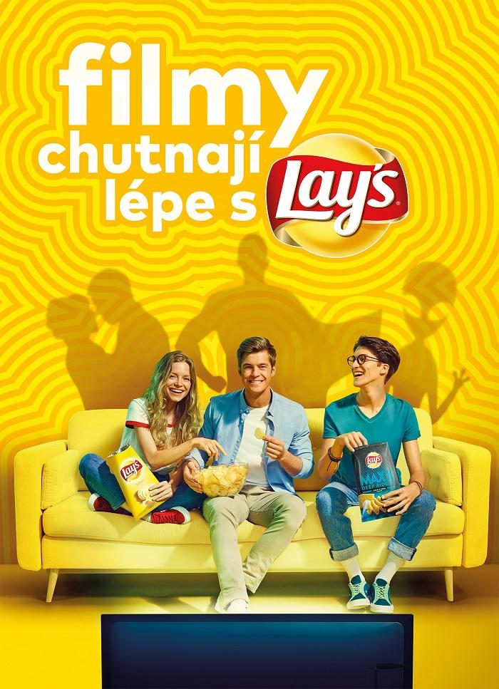 Klíčový vizuál k nové kampani chipsů Lay's, zdroj: PepsiCo