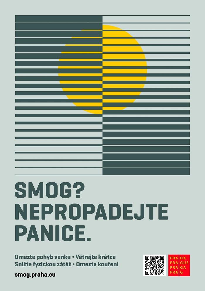 Cílem kampaně pražského magistrátu je informovat veřejnost, jak se ve smogové krizové situaci chovat, zdroj: Magistrát hl. m. Praha.