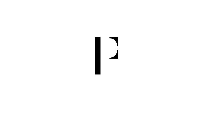 Novinkou vizuální identity je grafický symbol kombinující úvodní písmena názvu, tedy PF, zdroj: Pietro Filipi.