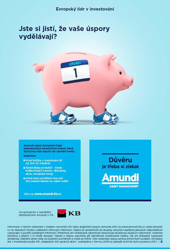 Klíčový vizuál k aktuální kampani Amundi, zdroj: Amundi