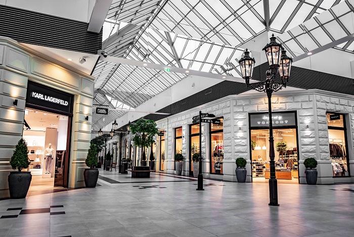 Interiér centra Premium Outlet Prague Airport, zdroj: Kaprain