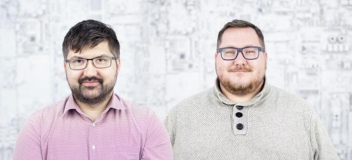 Ředitelé marketingu Alza: zleva Jan Sadílek a Jaroslav Kotápiš