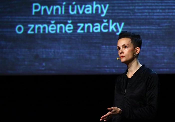 Lucia Tarbajovská na konferenci Brandstorming, foto: Internet Info