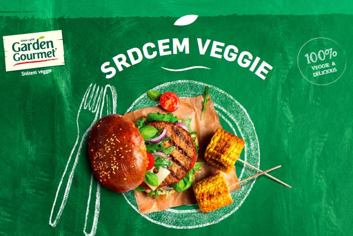 Burger je tahounem celé řady Garden Gourmet, tvoří 40 % prodejů, zdroj: Nestlé