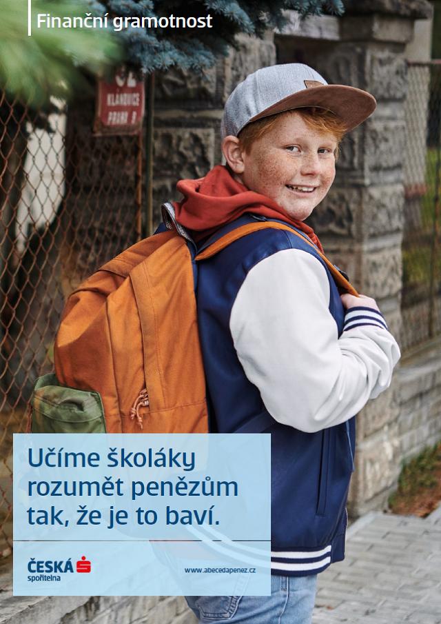 Klíčový vizuál k nové kampani České spořitelny, zdroj: Česká spořitelna