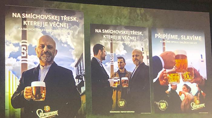 Klíčové vizuály k výroční kampani značky Staropramen, foto: MediaGuru.cz