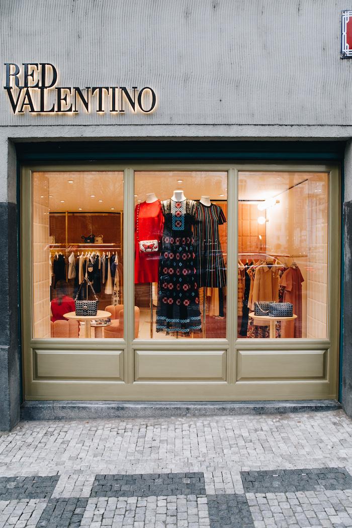 V Maiselově ulici otevírá butik Red Valentino, zdroj: Literix Group.