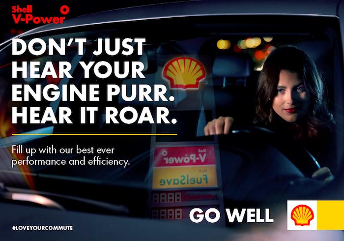 Kampaň má za cíl nejen posílit značku Shell, ale i prémiová paliva Shell V-Power, zdroj: VCCP.