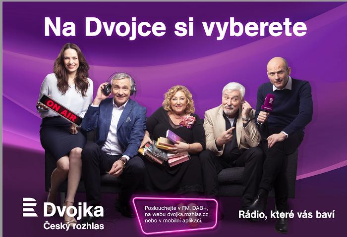 Vizuál kampaně stanice Dvojka, foto: Český rozhlas