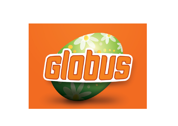 Globus mění logo, zdroj: Globus