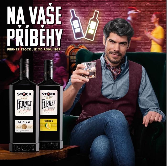 Klíčový vizuál k nové kampani značky Fernet Stock, zdroj: Stock Plzeň – Božkov