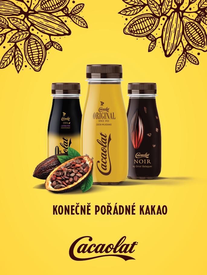 Klíčový vizuál k launchovací kampani Cacaolat na českém trhu, zdroj: Al-Namura