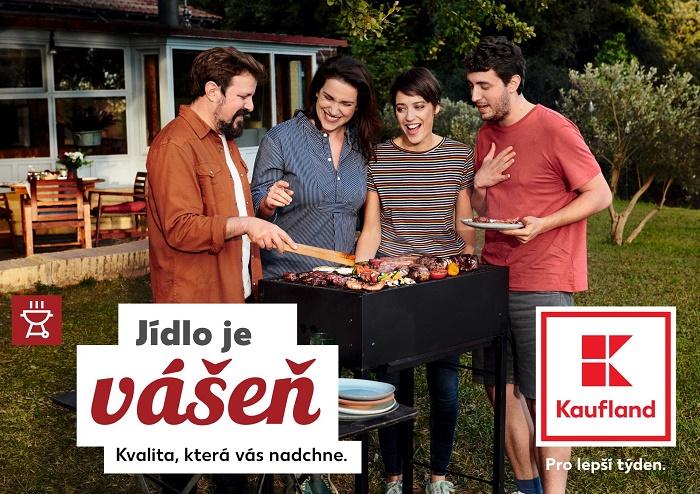 Vizuál na téma grilování z celoroční kampani řetězce Kaufland, zdroj: Kaufland