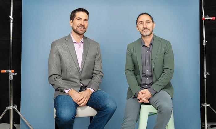 Brian Whipple, globální CEO Accenture Interactive, & David Droga, zakladatel agentury Droga5, zdroj: Accenture