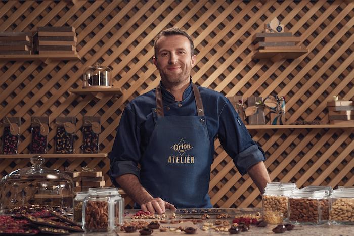 Čokoládový základ i další pochoutky bude připravovat Martin Pokorný, zdroj: Nestlé.