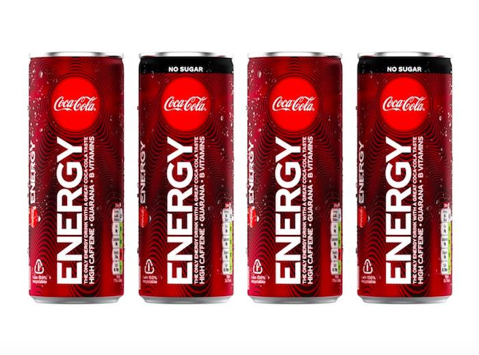 Na španělský a maďarský trh přichází novinka Coca-Cola Energy, zdroj: Coca-Cola Company.