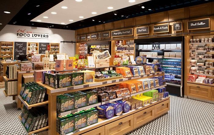 Prodejny We are Food Lovers jsou na letišti v Praze celkem dvě. Zdroj: Lagardere Travel Retail