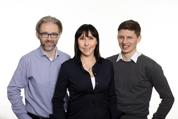 Jan Filipi, Luisa Alvesová, Luděk Hatoň, foto: Omnicom Media Group
