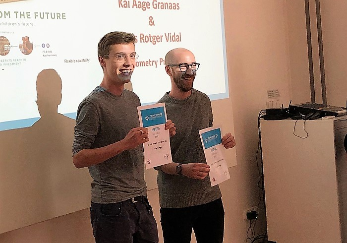 Kai Aage Granaas a Lluis Rotger Vidal, foto: MediaGuru.cz