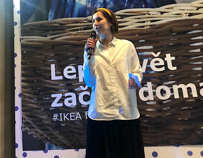 Caroline Reid, globální manažerka Ikea pro udržitelný vývoj produktů, foto: MediaGuru.cz
