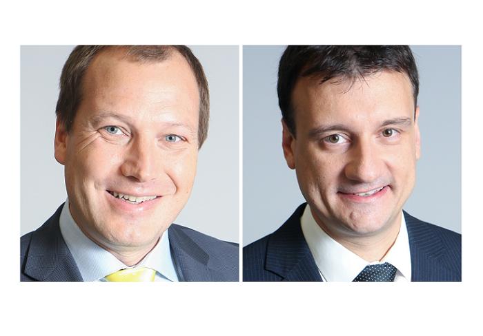 Nové dvoučlenné vedení ERV Evropské pojišťovny (zleva): Libor Dvořák a Štěpán Landík, zdroj: ERV