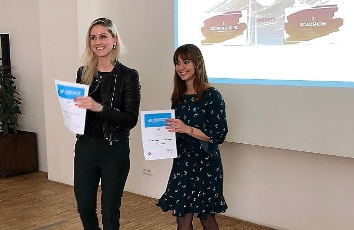 Dita Vašíčková a Monika Felgrová , foto: MediaGuru.cz