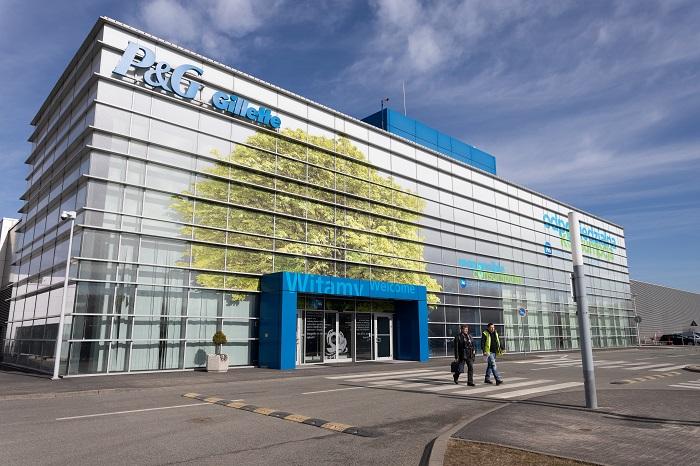 Značka Gillette má po světě několik továren, ta největší leží v polském městě Lodz, foto: P&G.