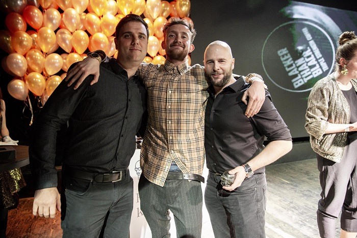 Pro tři zlaté Louskáčky za kampaň Blacker than Black – Vinyl si došli zástupci agentury McCann-Erickson, foto: Zuzka Bönisch.