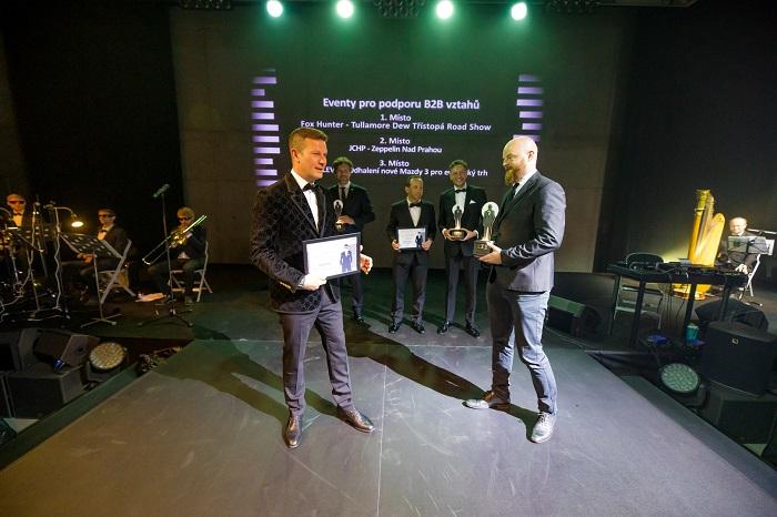 Zlatou cenu v kategorii Eventů pro podporu B2B vztahů si odnesla agentura Fox Hunter, foto: ČEA.