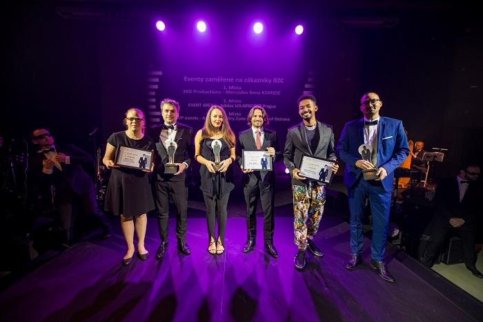 V kategorii Eventů zaměřených na zákazníky B2C bodovala firma JAD Productions, jež za svou práci pro Mercedes-Benz získala i Grand Prix, foto: ČEA.