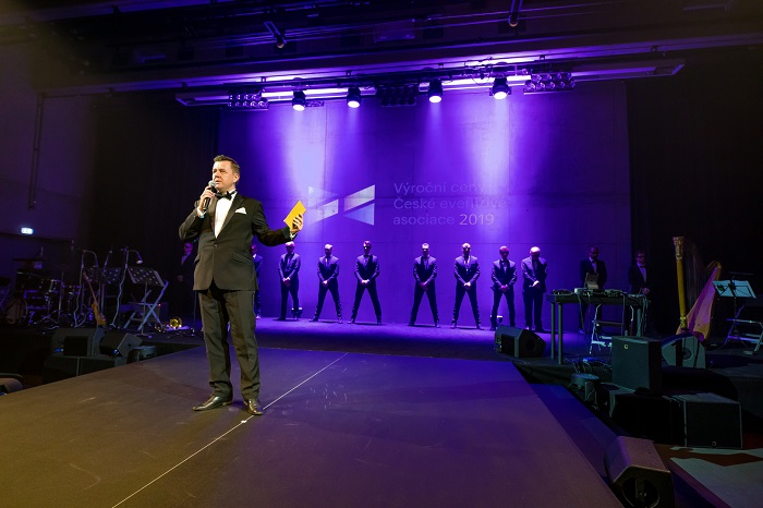 Slavnostní večer uvedl předseda České eventové asociace Jan Kubinec, foto: ČEA.