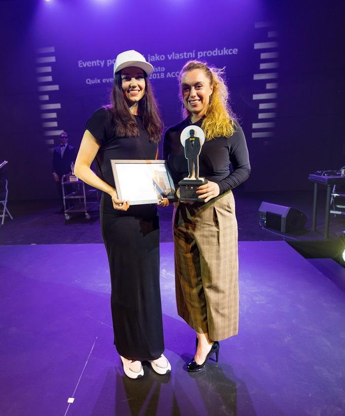 První místo v kategorii Eventů pořádaných jako vlastní produkci bodovala agentura Quix Event s konferencí reSite, foto: ČEA.