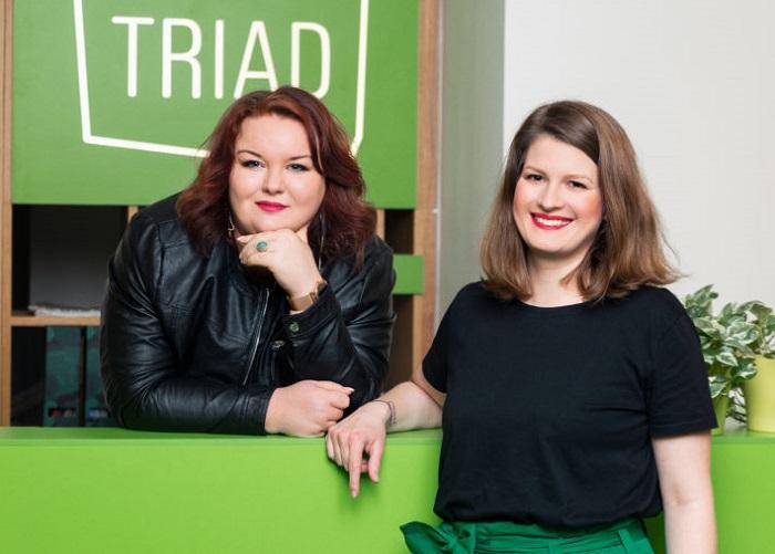 Petra Jankovičová předává výkonné řízení agentury Triad Advertising Magdaléně Křížové, zdroj: Triad Advertising.