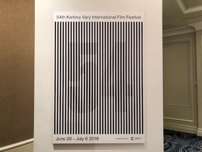 Klíčový vizuál k 54. ročníku MFF Karlovy Vary, foto: MediaGuru.CZ