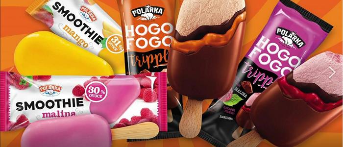 Pod značkou Polárka je v nabídce přes 30 druhů zmrzlin, zdroj: FB Alimpex.