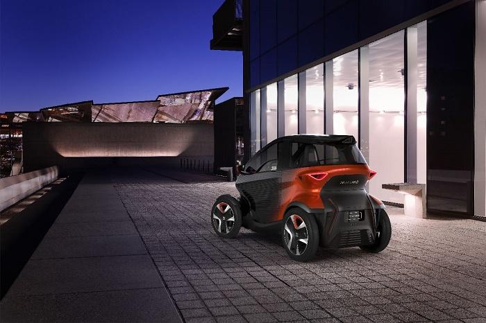 Koncept elektromobilu Minimó, zdroj: SEAT