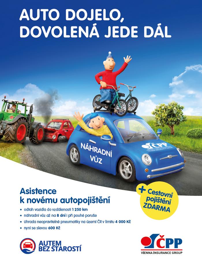 Klíčový vizuál k jarní kampani ČPP, zdroj: ČPP