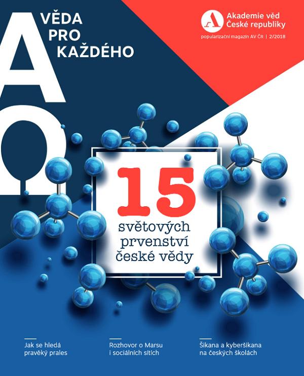Grand Prix za obsah si odnesla Akademie věd ČR za svůj časopis AΩ / Věda pro každého, zdroj: AV ČR