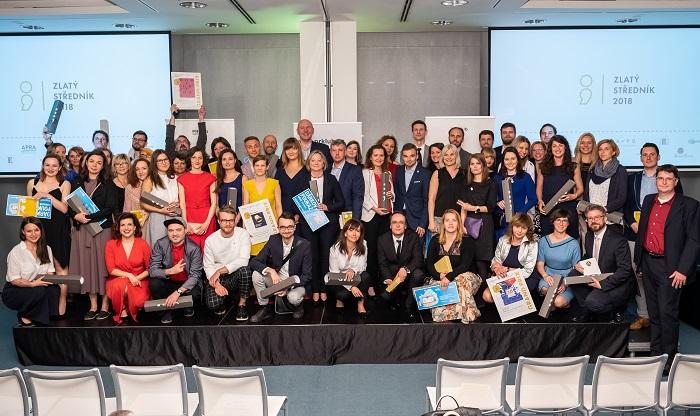 Vítězové letošní soutěže Zlatý středník, foto: PR Klub