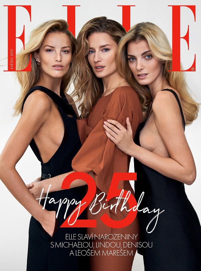 Narozeninová obálka Elle - 25 let, zdroj: Burda International CZ