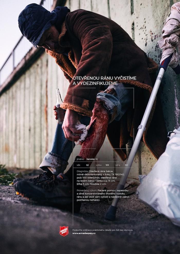 Zlatá kampaň studentského Louskáčka od WMC Grey pro Armádu spásy, zdroj: ADC
