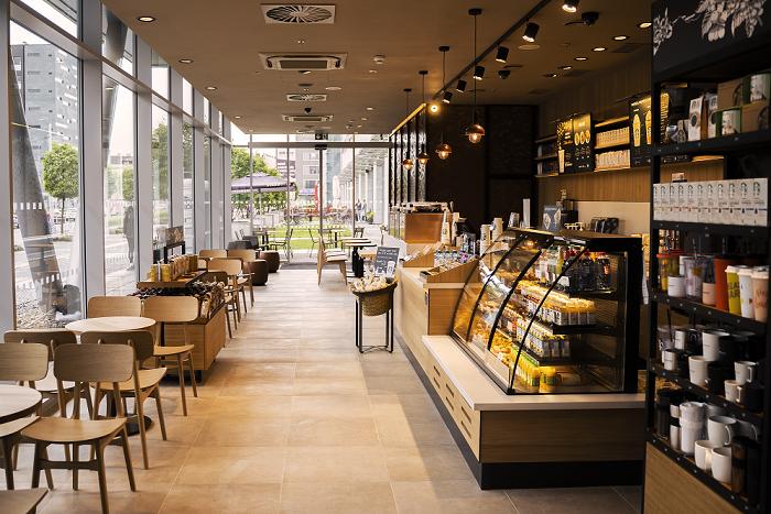 Nová kavárna je 43. pobočkou společnosti v České republice. Zdroj: Starbucks