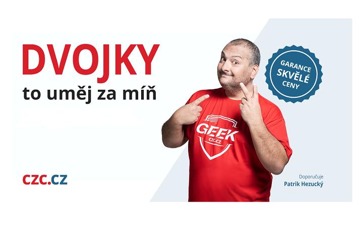 Vizuál kampaně s Patrikem Hezuckým, foto: CZC.cz