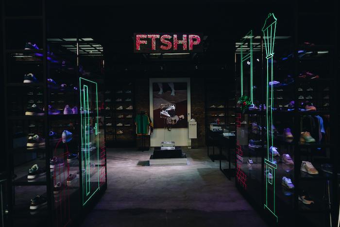 Jedna z prodejen Footshopu, zdroj: Footshop