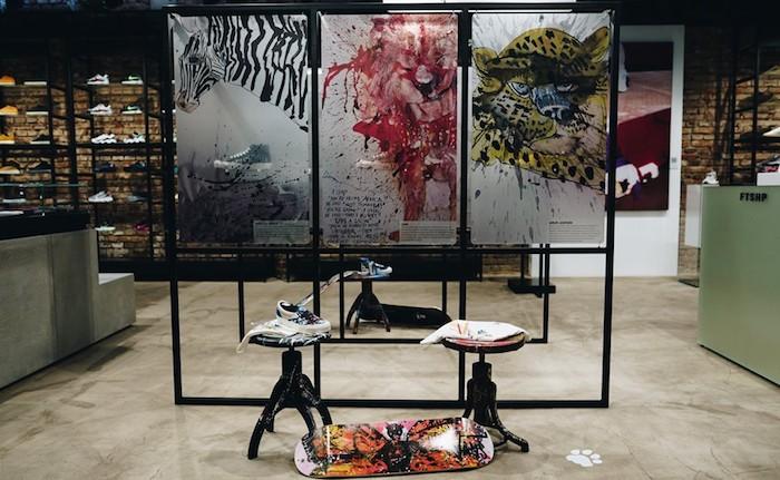 Uvedení nové kolekce Vans od britského umělceRalpha Steadmana, zdroj: FB Footshop
