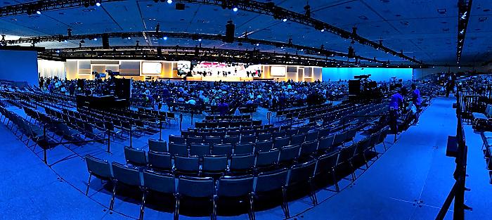 Konference Google Marketing Live 2019 se zúčastnilo několik tisíc marketérů.