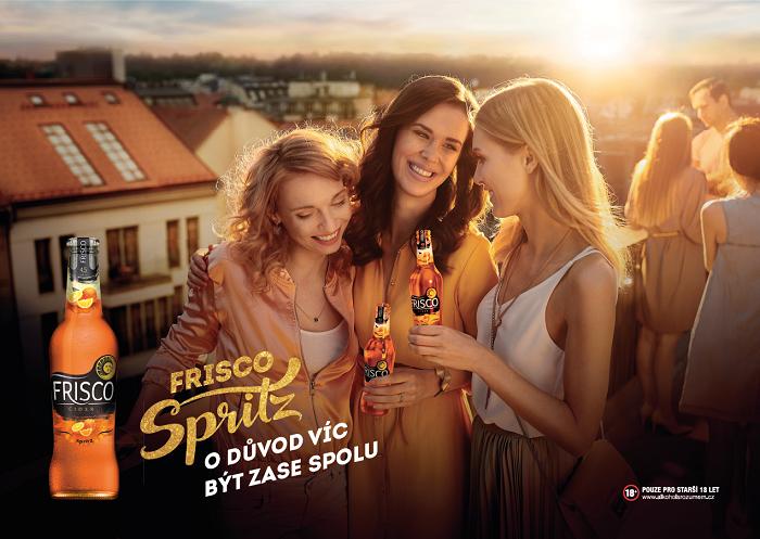 Klíčový vizuál k novince Frisco Spritz, zdroj: Plzeňský Prazdroj