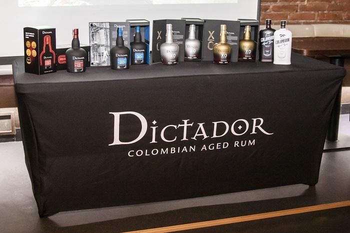Kolumbijský rum Dictador se zaměřuje na barmany, zdroj: Palírna U Zeleného stromu.
