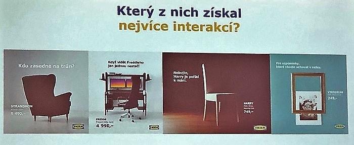 Úspěšné posty Ikea ČR reagující na aktuální dění, Zdroj: prezentace na Content First 2019